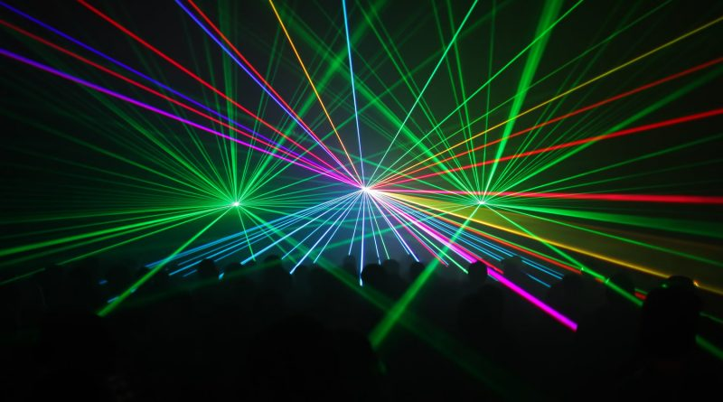 Luce Laser Effetto speciale