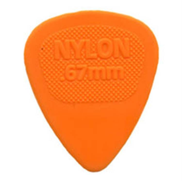 Dunlop DUNLOP 443R.67 Nylon Midi Orange .67mm