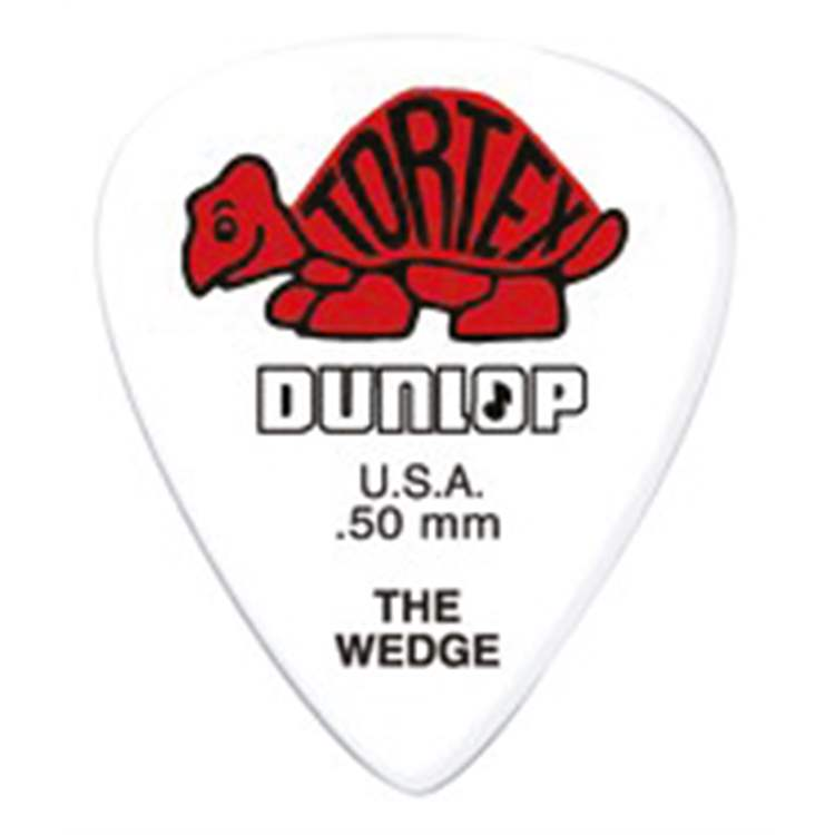 Dunlop DUNLOP 424R Tortex Wedge Red .50