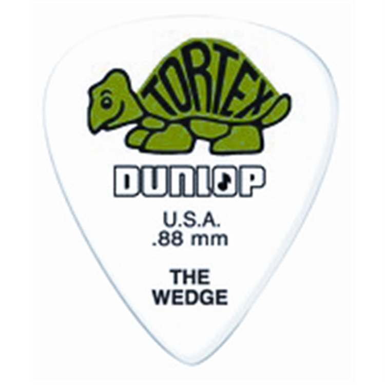 DUNLOP DUNLOP 424P Tortex Wedge Green .88