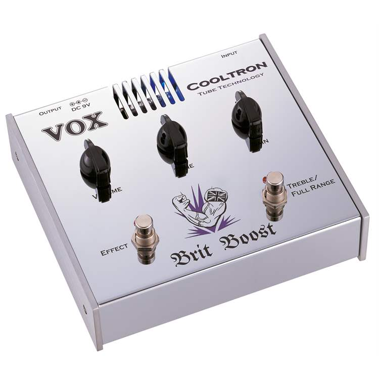 Vox VOX BRIT BOOST Pedale Booster Cooltron CT03BT