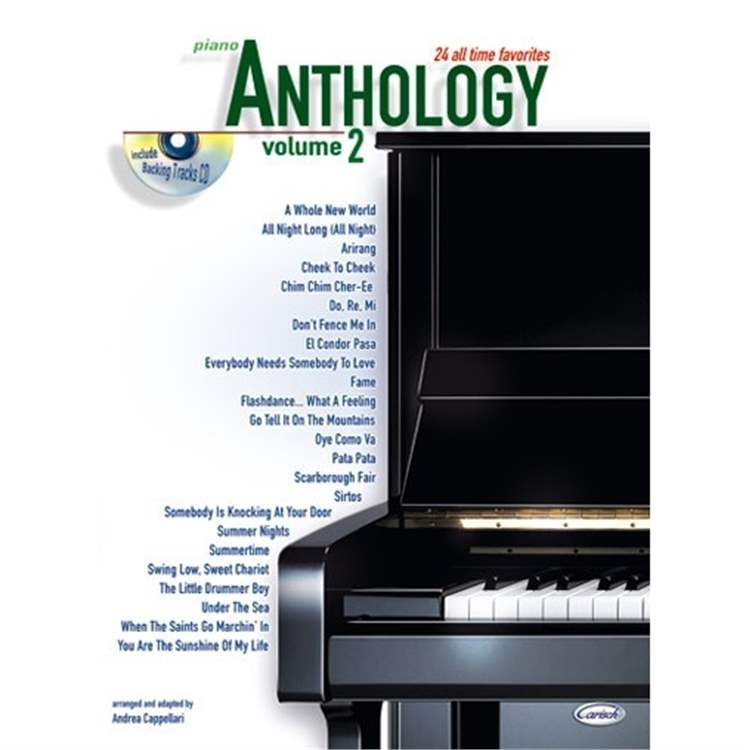 VOLONTE ANTHOLOGY (Piano), volume 2 + cd