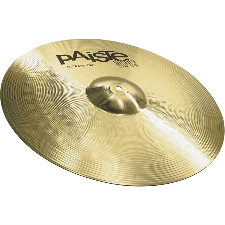 Paiste PAISTE 101 Brass Crash/Ride 18""
