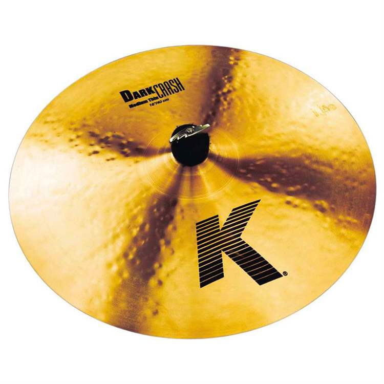 "ZILDJIAN ZILDJIAN k Dark Crash Medium Thin 16"" (cm. 40)"