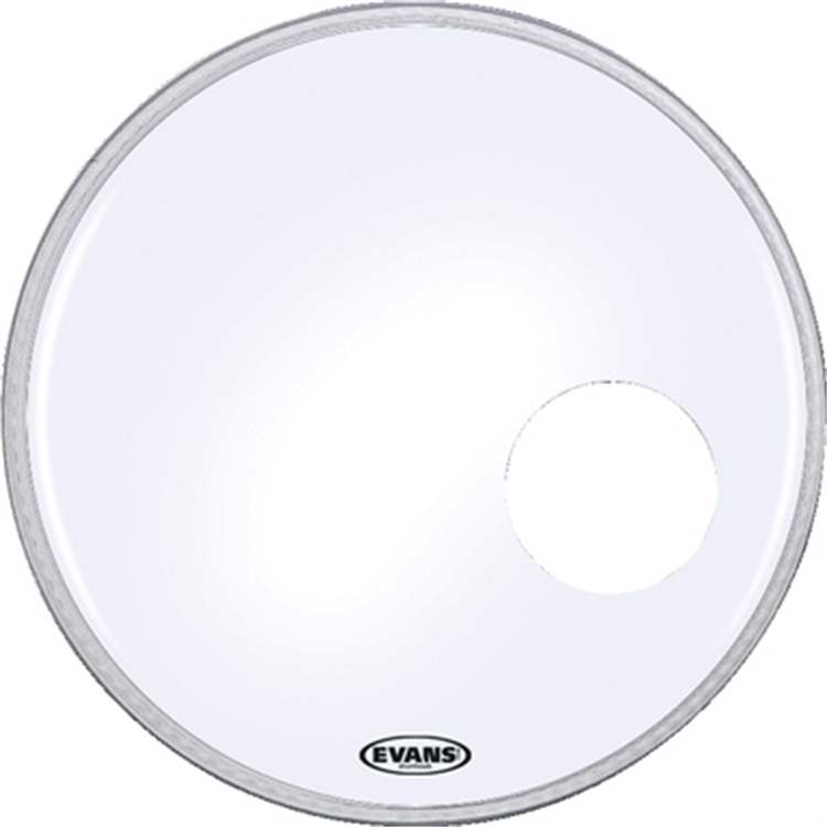 "Evans EVANS EQ3 RESONANT Smooth White 18"" - BD18RSW"