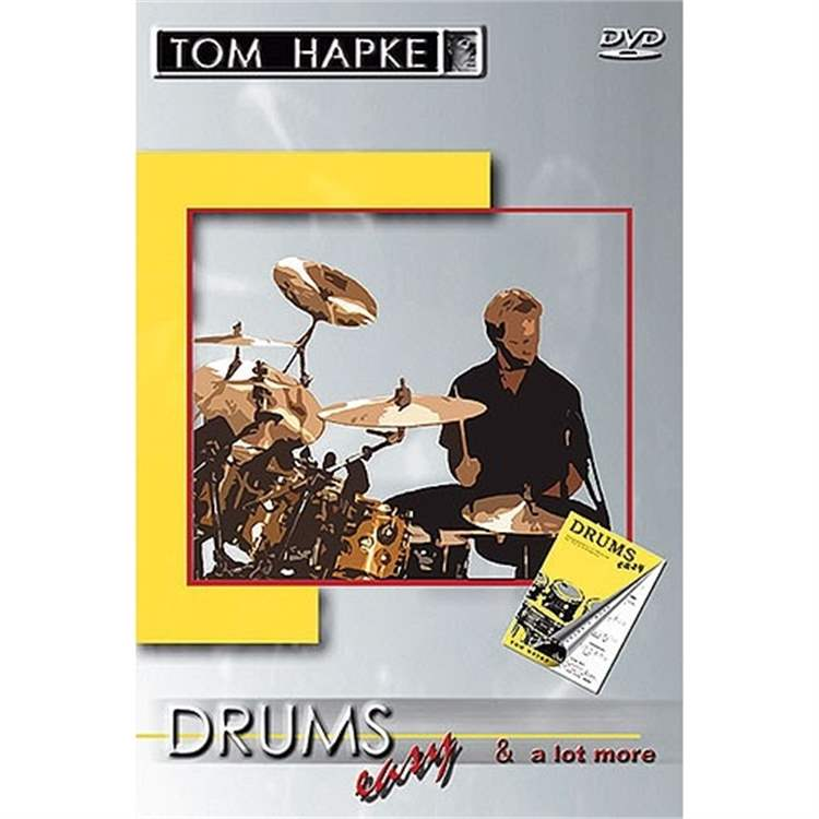 Volonte DVD TOM HAPKE - Drums Easy  a lot more
