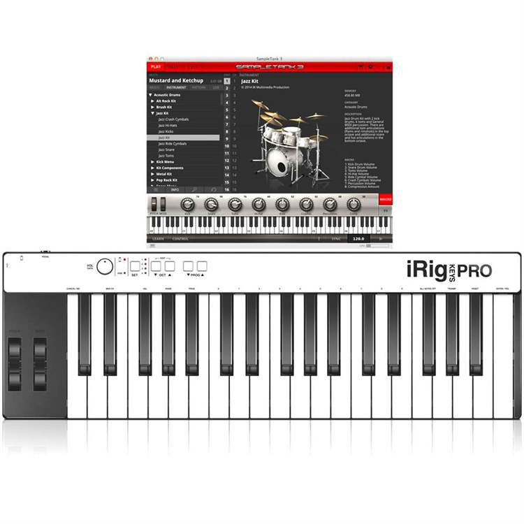 ik-multimedia IK MULTIMEDIA iRig Keys PRO + SampleTank 3 Bundle
