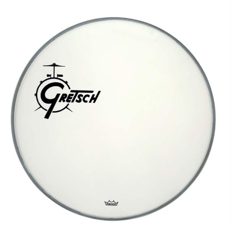 gretsch-drums GRETSCH GRDHCW18O Pelle Coated White con Logo Off Set 18""