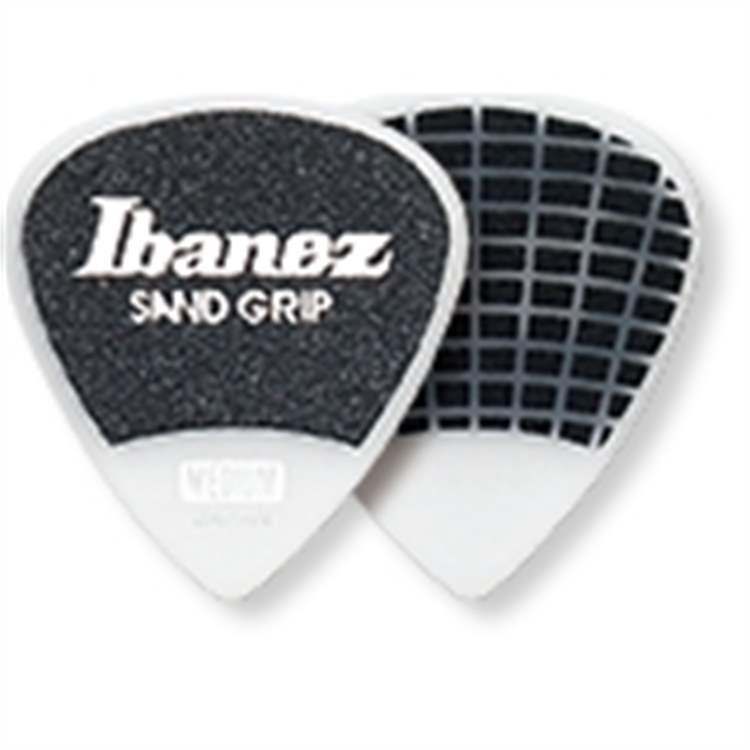 Ibanez IBANEZ PA16MSG-WH | Plettro Sand Grip Medio 50pz.