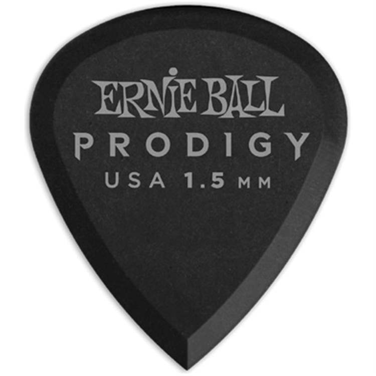 ernie-ball ERNIE BALL 9200 Plettri Prodigy Mini Black 1,5mm Busta da 6