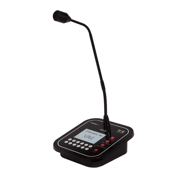 Proel PROEL PA DBE108 EN54-16 Programmable fully monitored desk call station