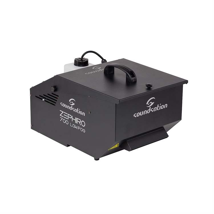 Soundsation SOUNDSATION E420E Compact machine for ground fog effect with wired and wireless controllers.