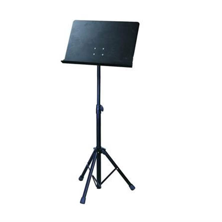 "Soundsation SOUNDSATION D492D Orchestra music stand with ""bayonet style"" removable metal plate and nylon bag"