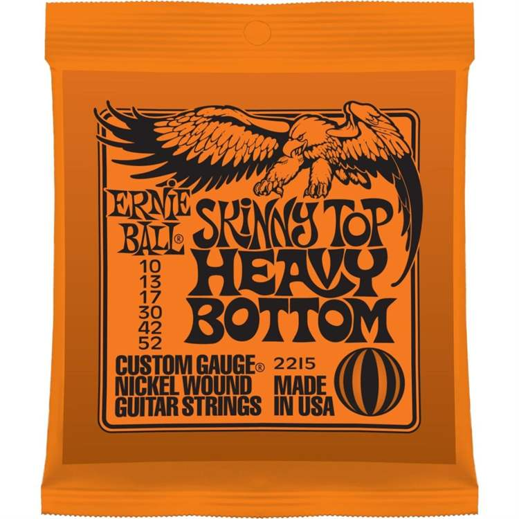 ernie-ball ERNIE BALL F328F Slinky Nickel Wound 2215 - Skinny Top H-Bottom