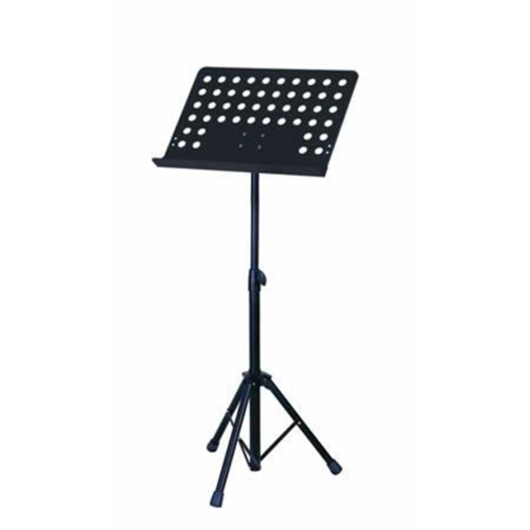 "Soundsation SOUNDSATION D493D Orchestra music stand with ""bayonet style"" removable perforated plate and nylon bag"