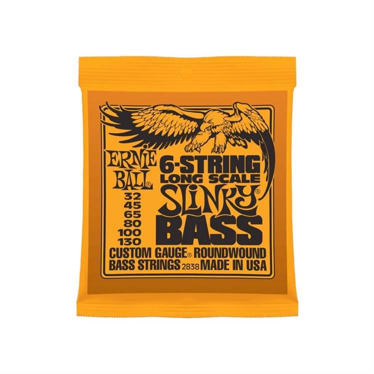 Ernie Ball ERNIE BALL F963F Slinky 6 string Bass Nickel Wound - Long Scale