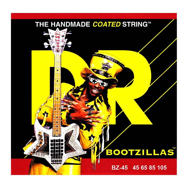 Dr Music DR MUSIC H415H Bass Strings Bootzillas Signature - Handmated Coated, Medium