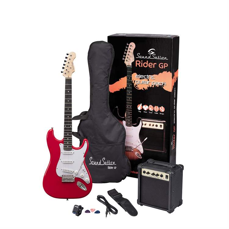 Soundsation SOUNDSATION E685E Guitar Pack elettrico - Candy Apple Red