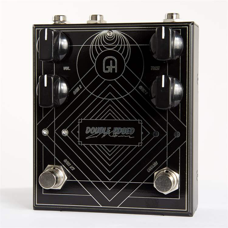 Greenhouse GREENHOUSE L373L Dual channel high gain distortion - Handcrafted boutique stompbox August Tidemann signature